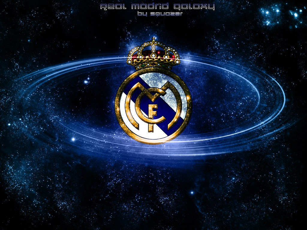 Real Madrid Galaxy Logo Wallpaper