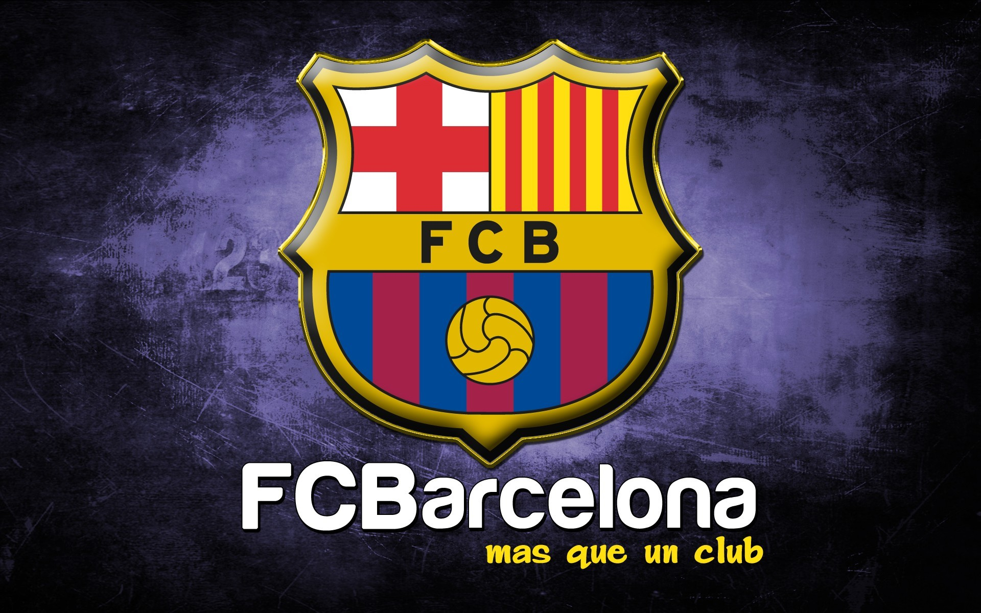FC Barcelona Logo 1920×1200 Wide HD Wallpaper