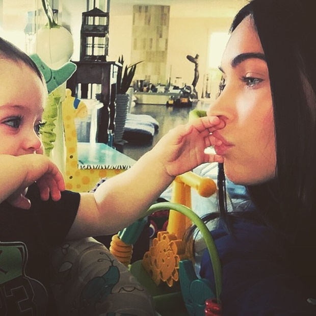 Megan Fox with cute baby