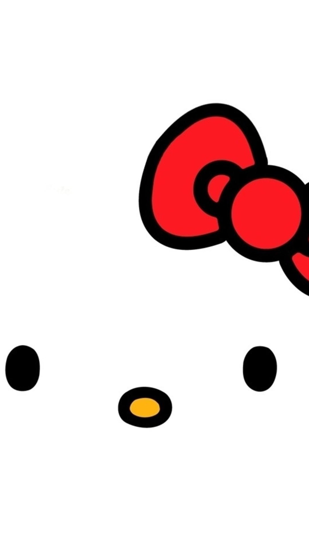 Cartoon Hello Kitty iPhone 6 Wallpaper