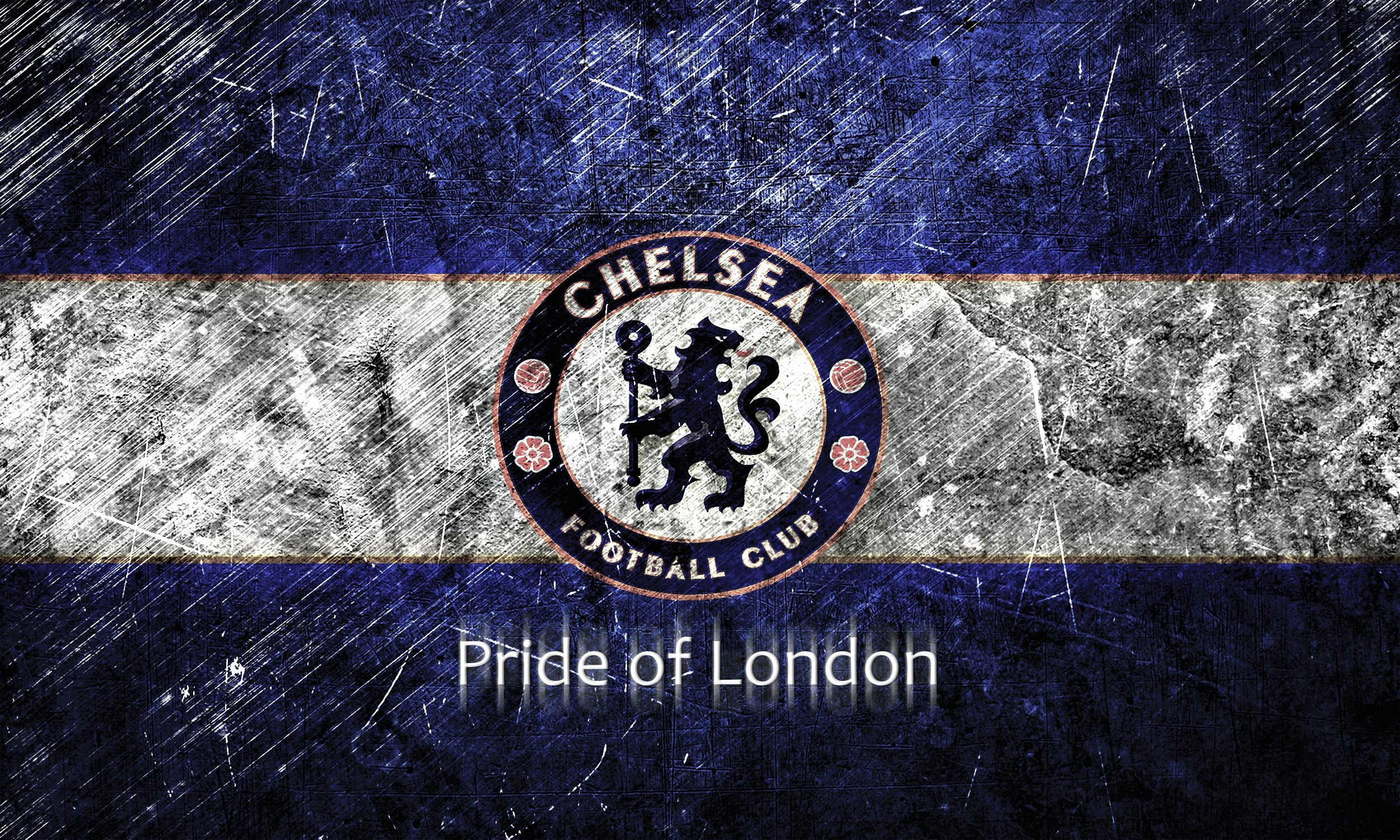 Chelsea FC Blue Logo Wallpaper