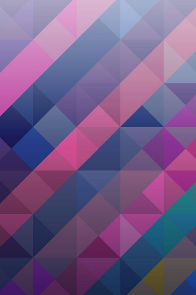 Colorful Diamond Pattern iPhone 6 Wallpaper