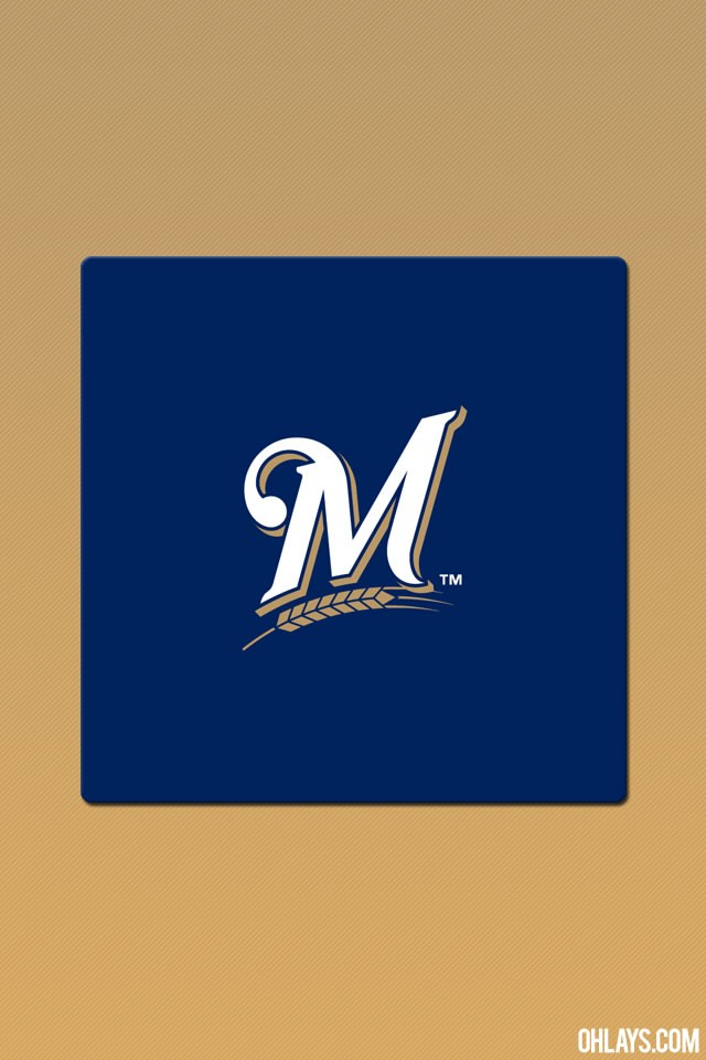 Dodgers MLB Milwaukee Brewers iPhone 6 Logo