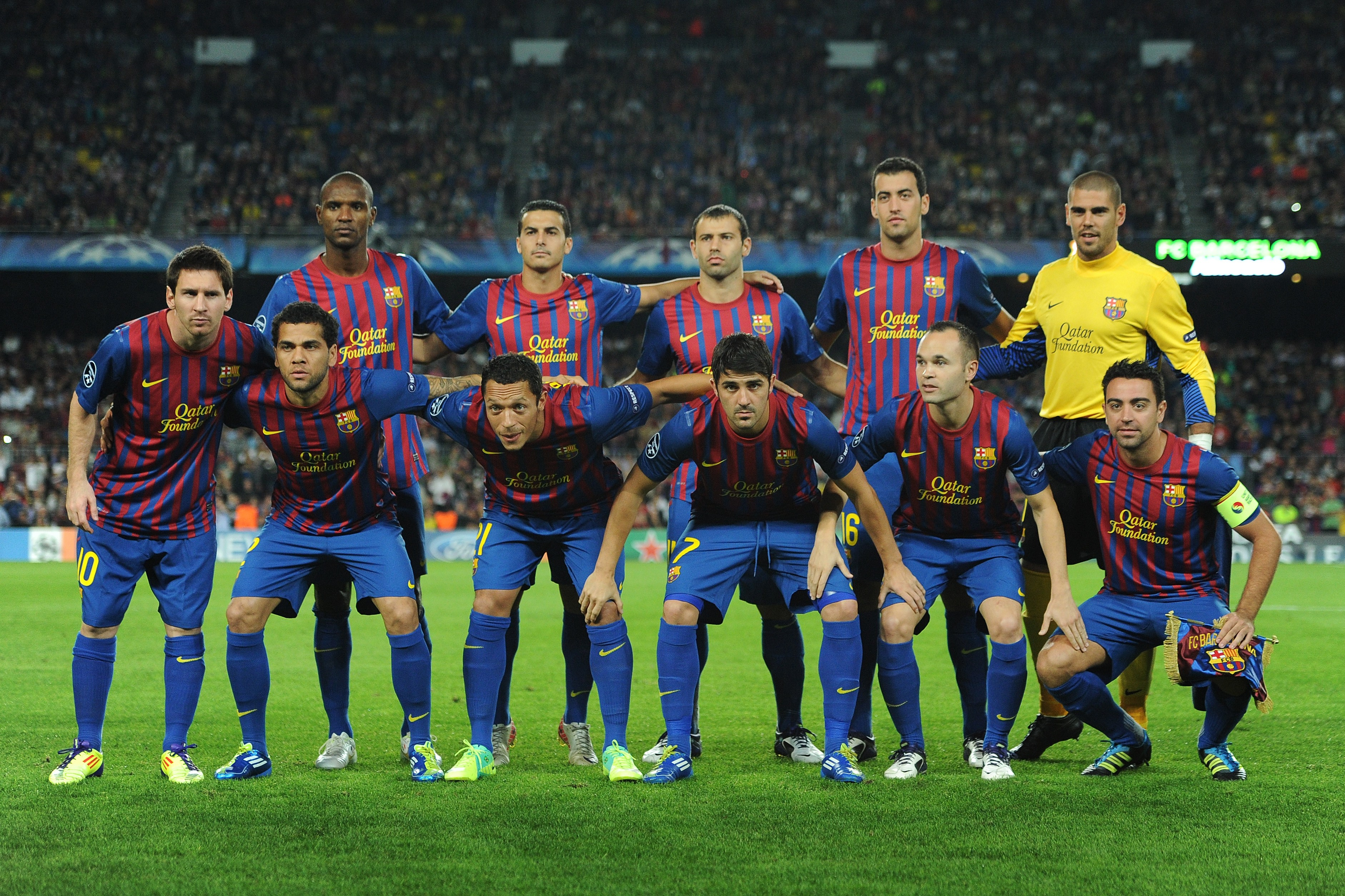 FC Barcelona UEFA Champions League Team