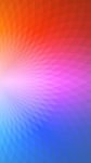 Geometric Rainbow Gradient iPhone 6 Wallpaper