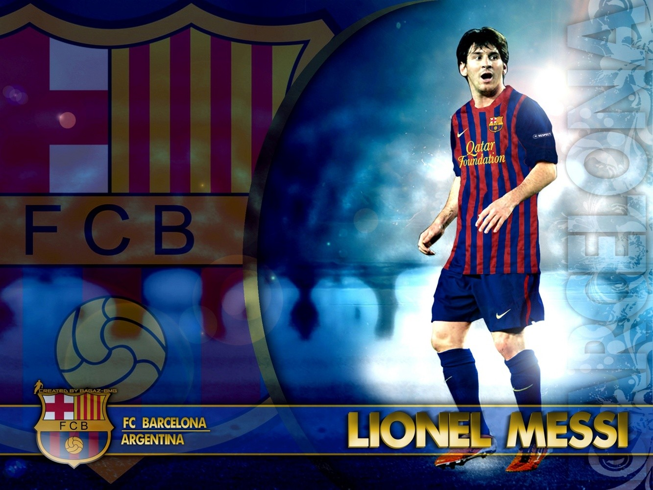 Messi Barcelona Wallpaper