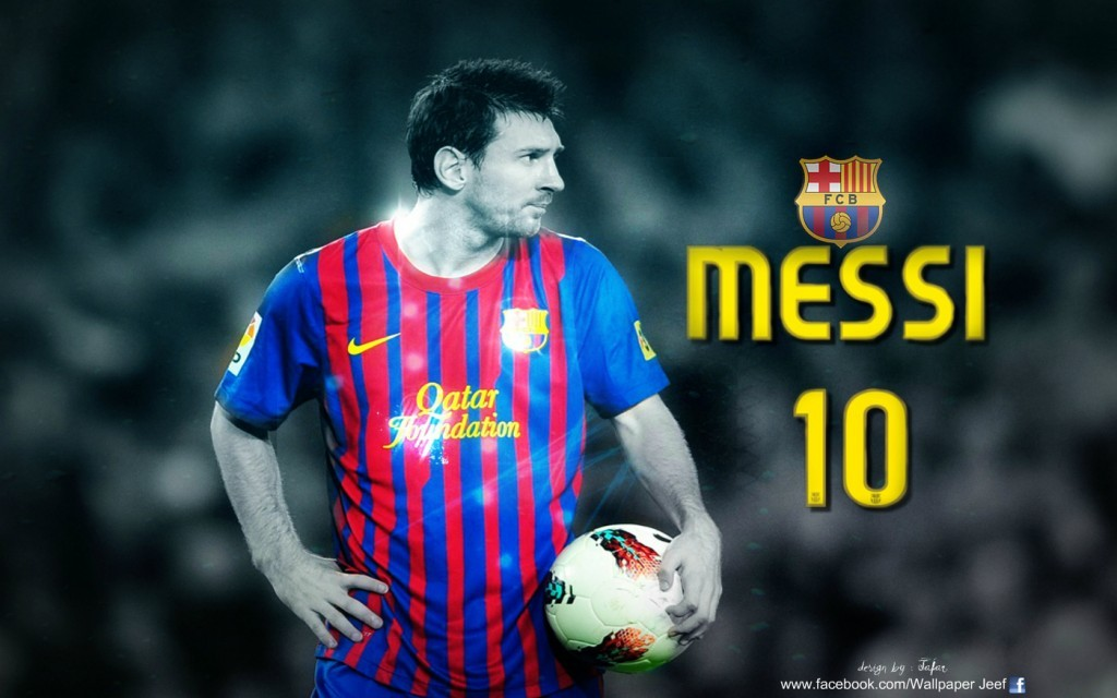 FC Barcelona Lionel Messi HD Wallpaper