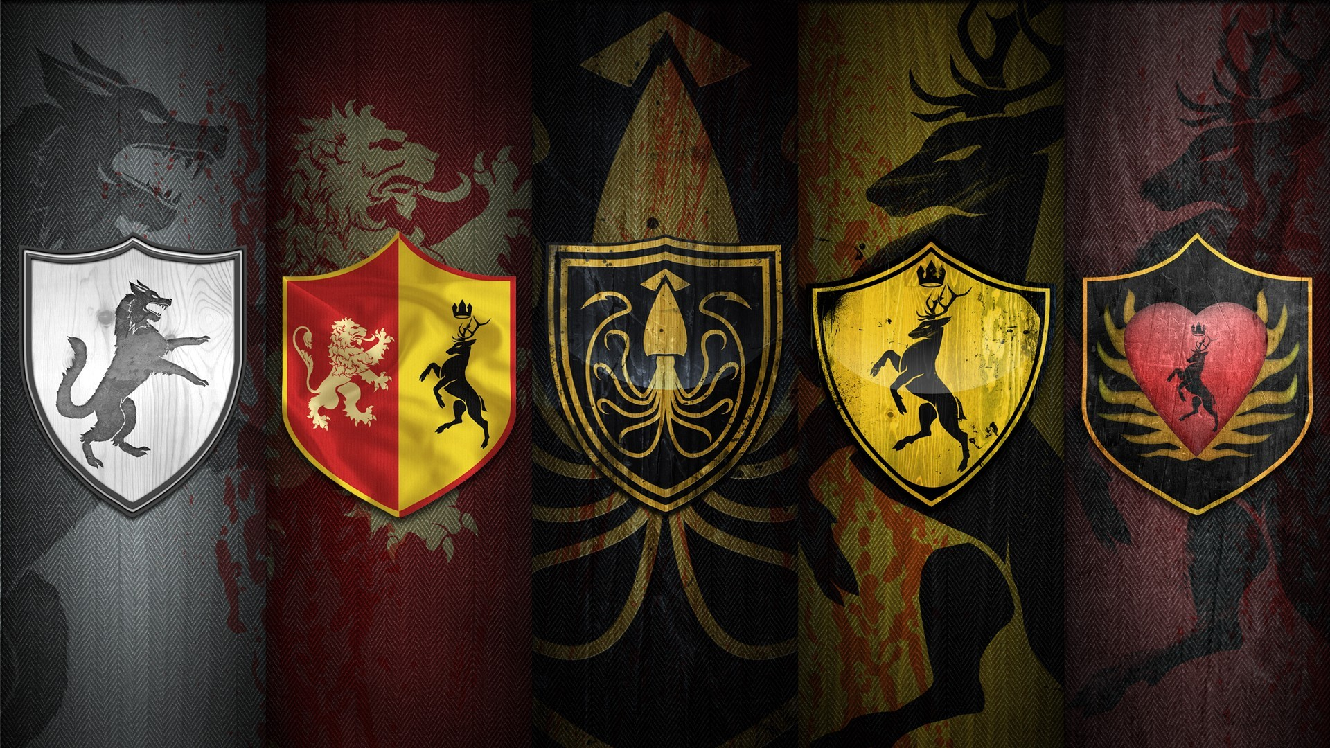 Game of Thrones City Flags and Logo