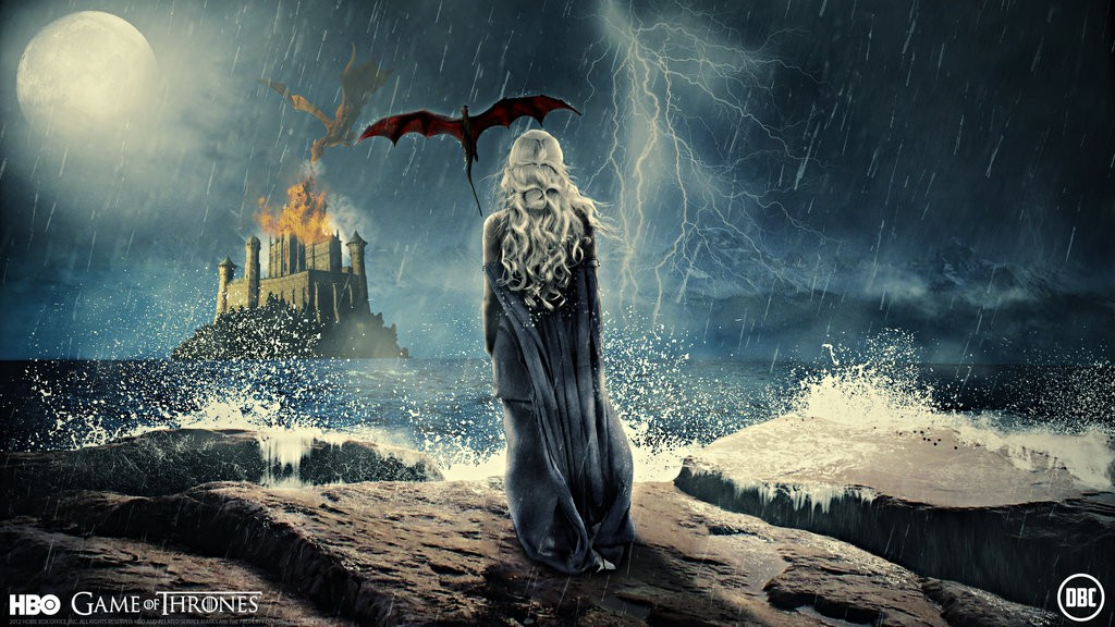 Game Of Thrones Wallpaper Daenerys Targaryen