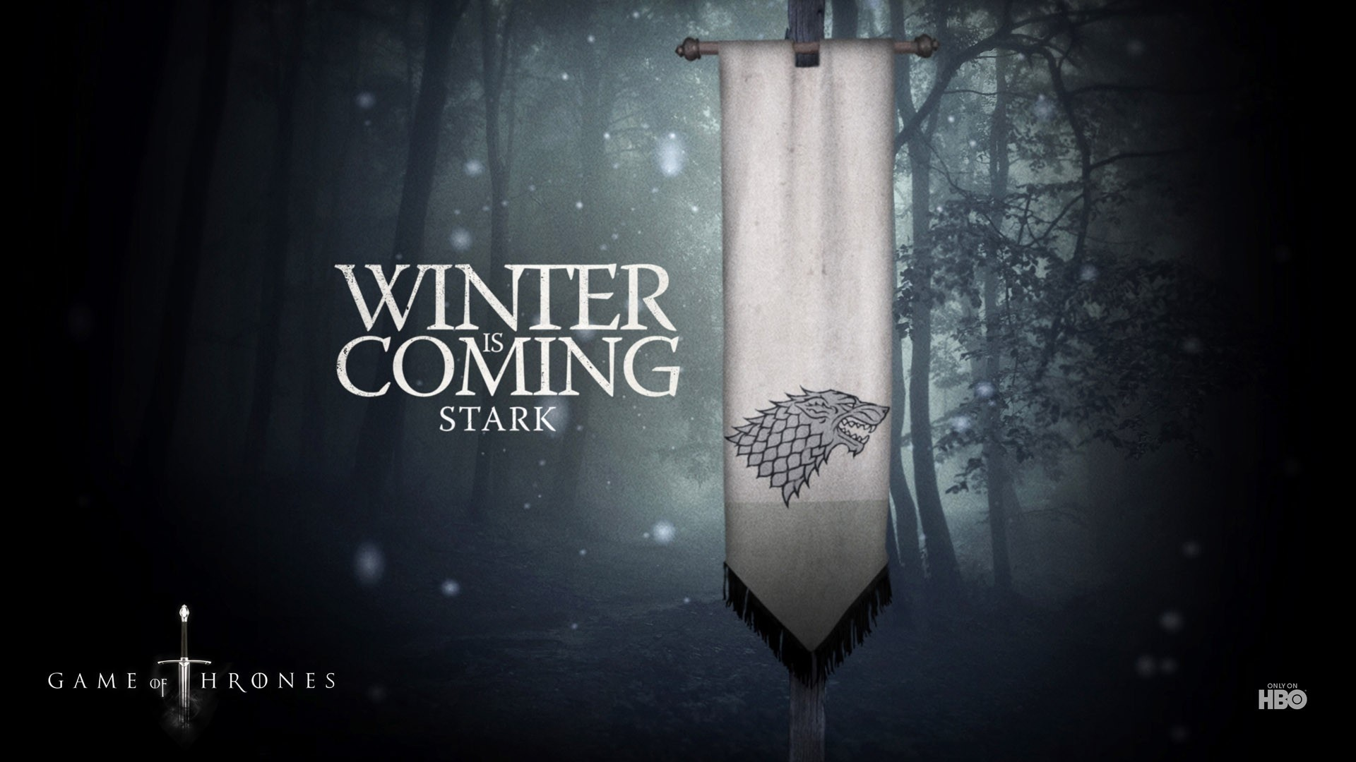 Game of Thrones Winter is Coming Wallpaper