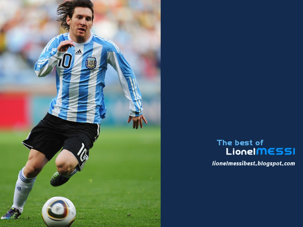 Argentina's Lionel Messi Wallpaper