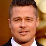 Brad Pitt Sexy Look Closeup