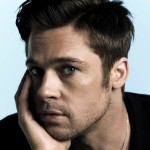 Brad Pitt Closeup Wallpaper