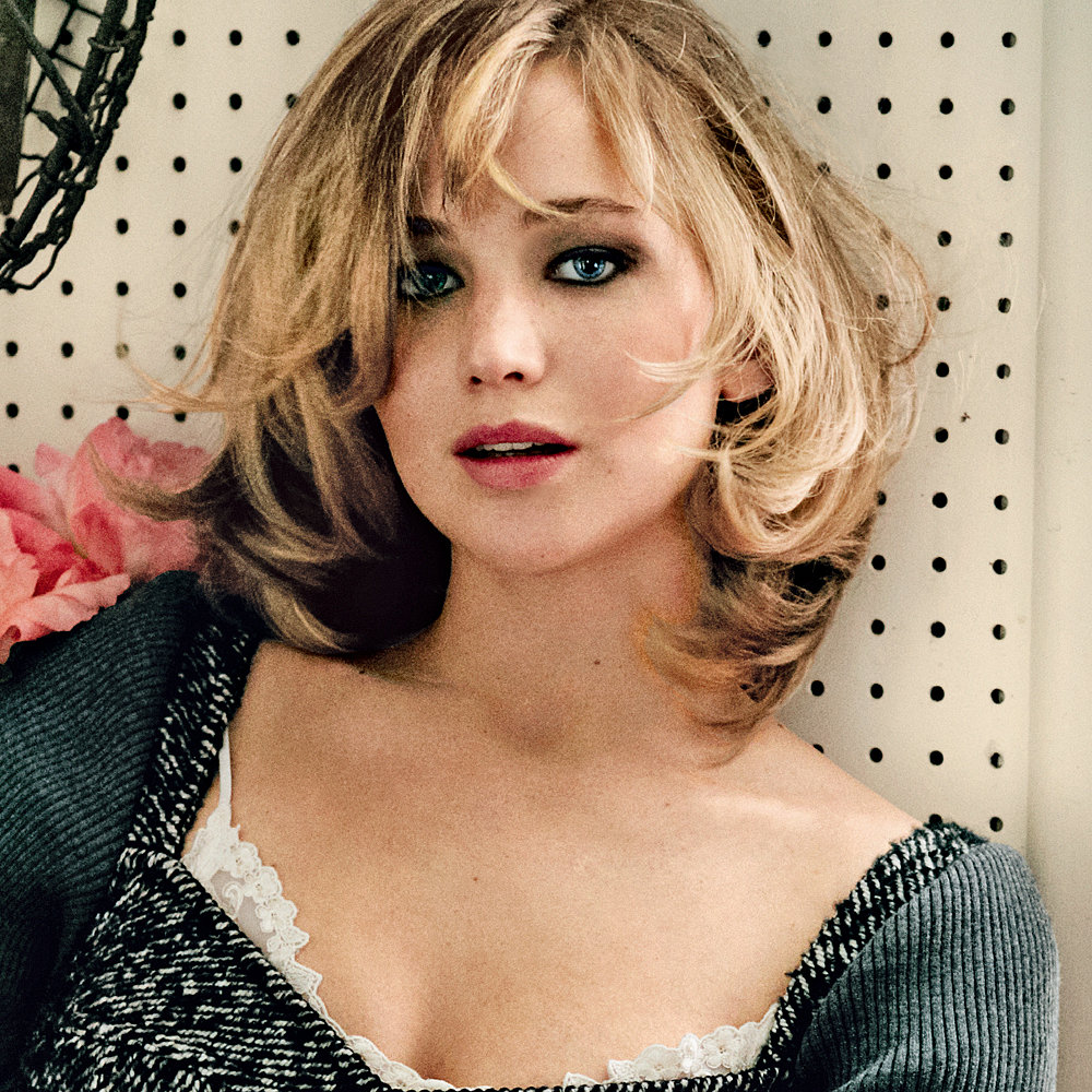 Cute Jennifer Lawrence Vogue Wallpaper