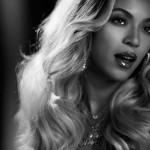 Beyoncé Black and White Wallpaper